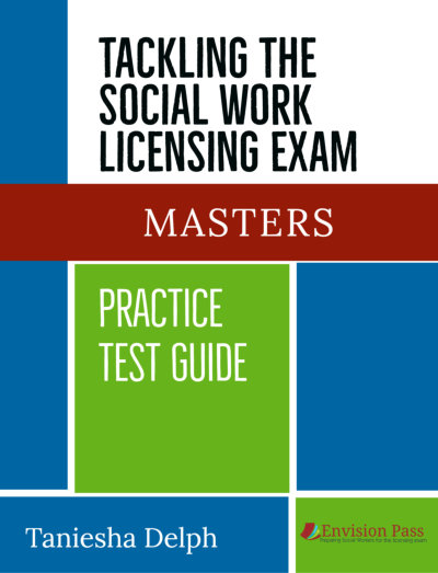 Tackling the Social Work Exam Masters Test Book Cover